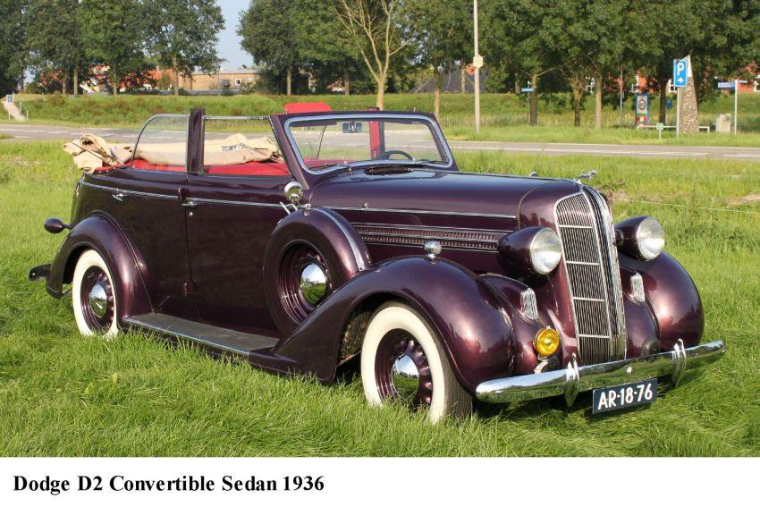 Dodge 1936 d2 4 door convertible open 001 de hav for 1936 dodge 4 door sedan