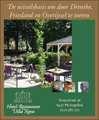 Hotel Restaurant Villa Nova in Drenthe